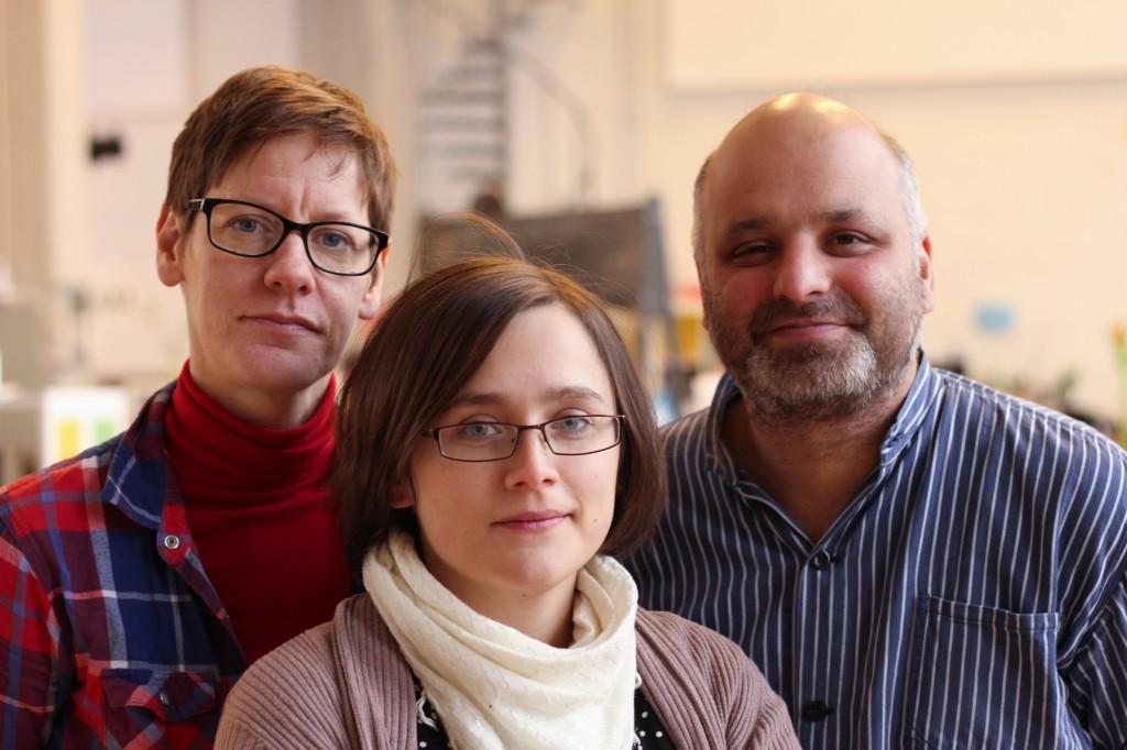 Hanna Thomé, Sara Svensson och Daniel Sestrajcic
